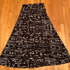 Mossimo Supply Co Medium Maxi Skirt